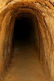 подземелье внутри взгляда Стоковое фото RF