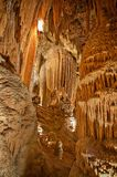 подземелье выдалбливает luray утесистое schindler Стоковое фото RF