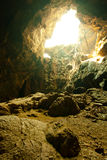 подземелье естественное Стоковое Фото