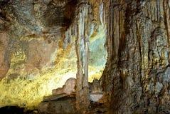 подземелье карстовое стоковое изображение