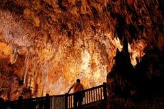 подземелье сталактита Стоковая Фотография RF