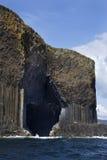 Подземелье Fingal - Staffa - Шотландия Стоковое Изображение