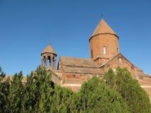 Подземелье Khor Virap глубокое - старый армянский монастырь стоковое фото rf
