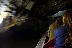 Подземелье Punkevní в Karst Moravian, Чешской Республике Стоковые Изображения RF