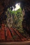 Подземелья Batu, Куала Лумпур, Малайзия Стоковые Изображения RF