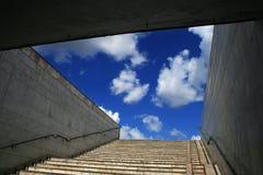 подземка лестниц неба Стоковые Изображения