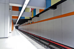 подземка станции Стоковое Изображение