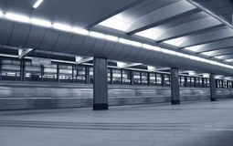 подземка станции Стоковое фото RF