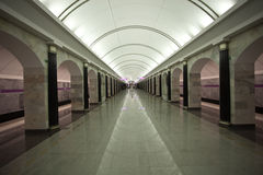 подземка станции Стоковая Фотография