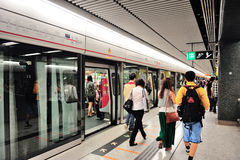 Подземка Hong Kong Стоковое фото RF