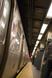 подземка nyc стоковое изображение rf