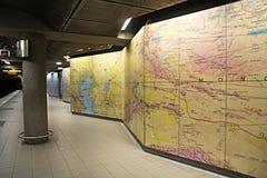 Подземная карта Стоковое фото RF