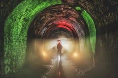 Подземная система под городом стоковое фото