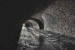 Подземная система под городом стоковые фото