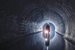 Подземная система под городом стоковое изображение