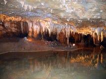 Подземное озеро Стоковая Фотография RF