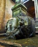 Подземно-минная цистерна базилики Стамбул, Турция стоковая фотография rf