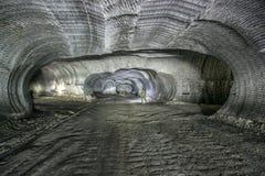 Подземные рудники Украина, Донецк Стоковые Изображения RF