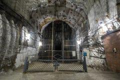 Подземные рудники Украина, Донецк Стоковая Фотография