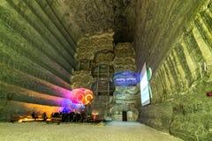 Подземные рудники Украина, Донецк Стоковое Изображение