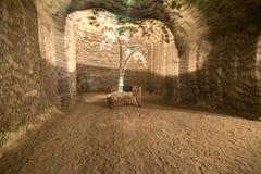 Подземные рудники Украина, Донецк Стоковое Фото