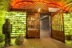 Подземные рудники Украина, Донецк Стоковые Изображения