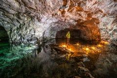 Подземные рудники Украина, Донецк Стоковое Изображение RF