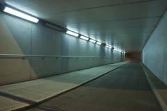 Подземный переход ночи Стоковое Изображение RF