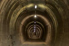 Подземный тоннель на ath цикла Alpe Adria стоковая фотография rf