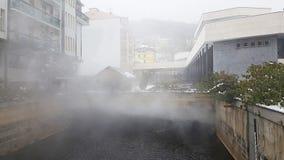 Подземный фонтан ключевой воды в karlovy меняет стоковые изображения rf