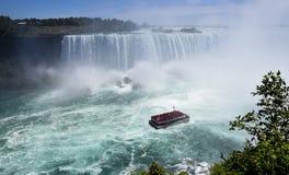 Подкова падает Ниагарский Водопад стоковые фото