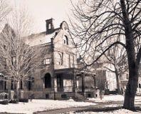 подкраска дома привидения Стоковые Фото