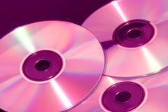 подкрашиванный компактный диск s Стоковое Изображение RF
