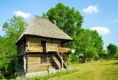 подлинная дом Румыния деревянная Стоковые Изображения