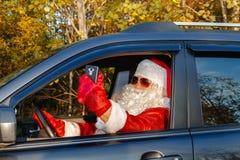 Подлинный Санта Клаус Стоковые Изображения RF