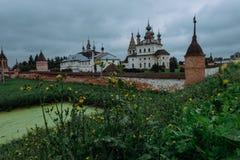 Подлинный старый русский городок Yuryev-Polsky Стоковое фото RF