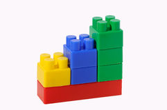 поднимать диаграммы блоков Стоковые Изображения RF