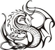 поднимать дракона Стоковая Фотография RF
