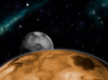 поднимать луны Бесплатная Иллюстрация