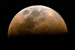 поднимать половинной луны стоковая фотография