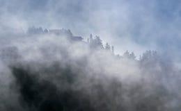 поднимать тумана Стоковая Фотография