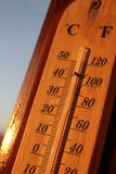 поднимающаяся температура Стоковые Фотографии RF