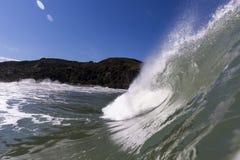 Поднимающее вверх волны близкое Стоковая Фотография