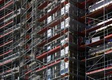 поднимающее вверх дома здания самомоднейшее новое Стоковая Фотография