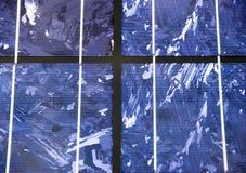 поднимающее вверх клетки близкое самомоднейшее солнечное Стоковая Фотография