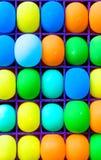поднимающее вверх конца baloon предпосылки цветастое Стоковые Изображения