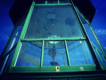 Поднимающее вверх маяка близкое Стоковое Изображение