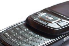 поднимающее вверх мобильного телефона близкое Стоковые Фото