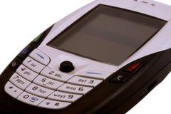поднимающее вверх мобильного телефона близкое Стоковые Изображения