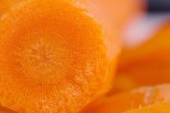 поднимающее вверх моркови близкое Стоковая Фотография RF